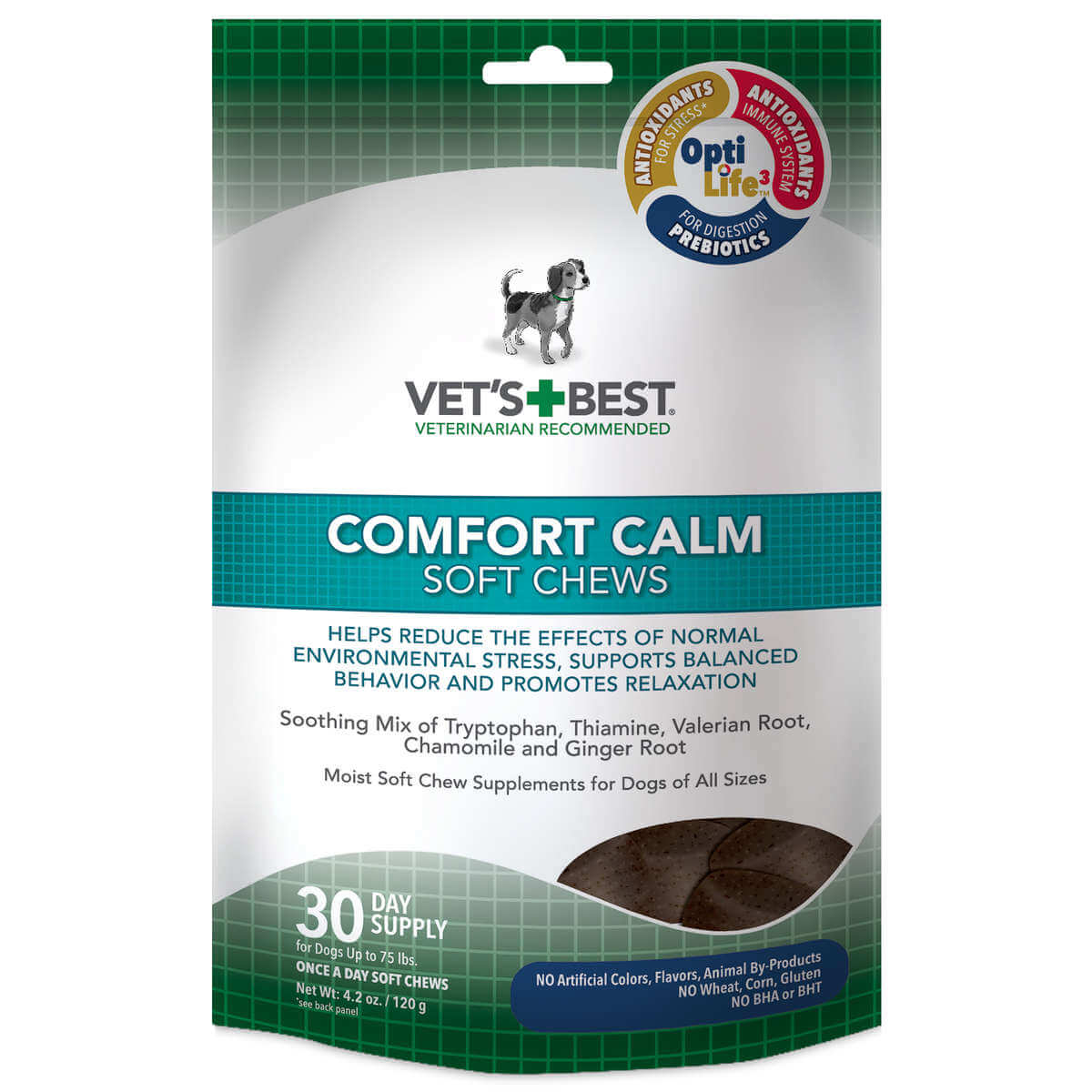 Vet's Best Comfort Calm Dog Soft Chews