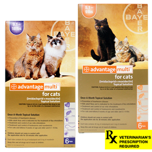 Advantage Multi for Cats Rx