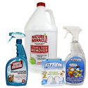 Stain, Odor & Cleaning Supplies