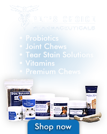 Pet's Choice Pharmaceuticals - For your pet's inner and outer balance.