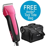 Andis Excel 5-Speed+ - Fuschia w/ FREE Nail Grinder