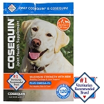 Cosequin Soft Chews with MSM Plus Omega-3s for Dogs, 120 ct