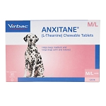 Anxitane Chewable Tablets M & L for Dogs 22.1 lbs and up