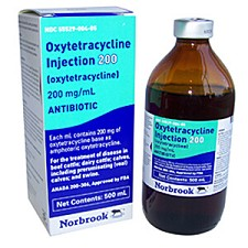 Oxytetracycline Injection 200 mg
