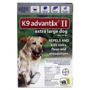 K Advantix Ii Extra Large Dog  Pack