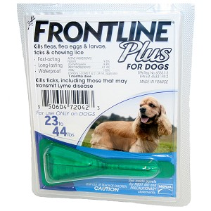 Frontline Plus Flea & Tick for Dogs