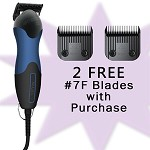 Wahl Storm II 2-Speed Clipper with 2 FREE #7F Blades