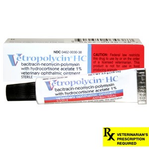 Triple Antibiotic Ophthalmic Ointment With Hydrocortisone Rx