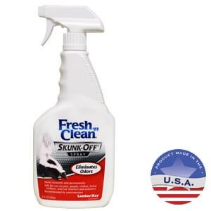 fresh 39 n clean skunk off spray. Black Bedroom Furniture Sets. Home Design Ideas