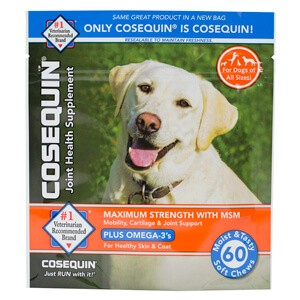 cosequin soft chews with msm plus omega 3s for dogs. Black Bedroom Furniture Sets. Home Design Ideas