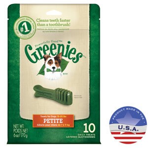 Greenies Dental Chews Petite Treats For Dogs Review