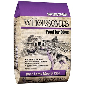 Sportmix Wholesomes Lamb And Rice Dog Food