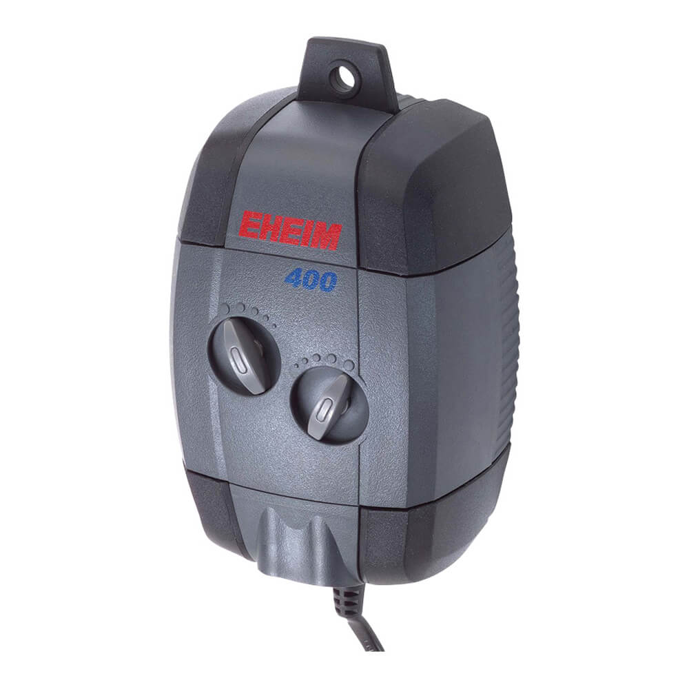 Adjustable Air Pump 400 Watt Double Outlet with Diffusers