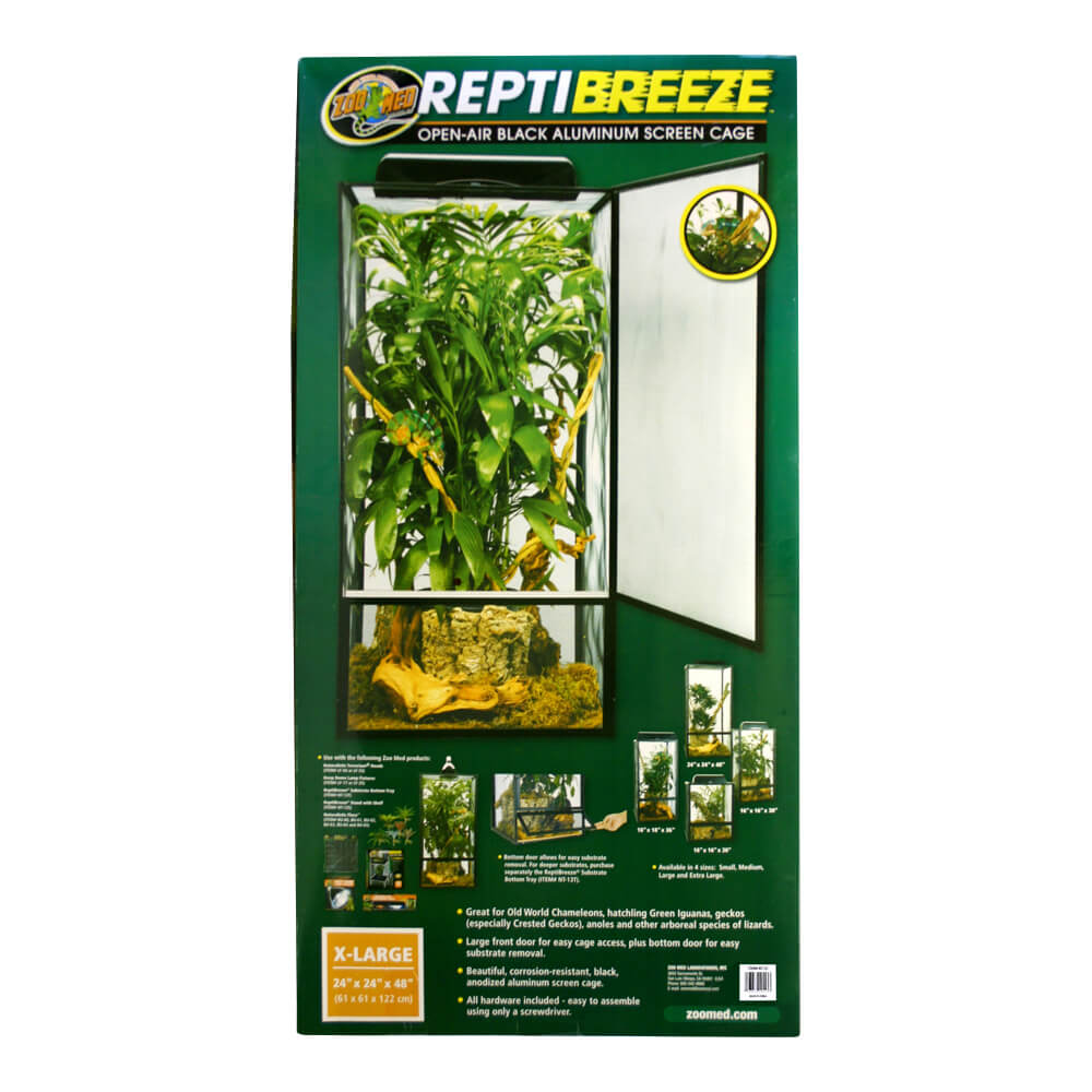 Reptibreeze Aluminum Screen Cage, X-Large