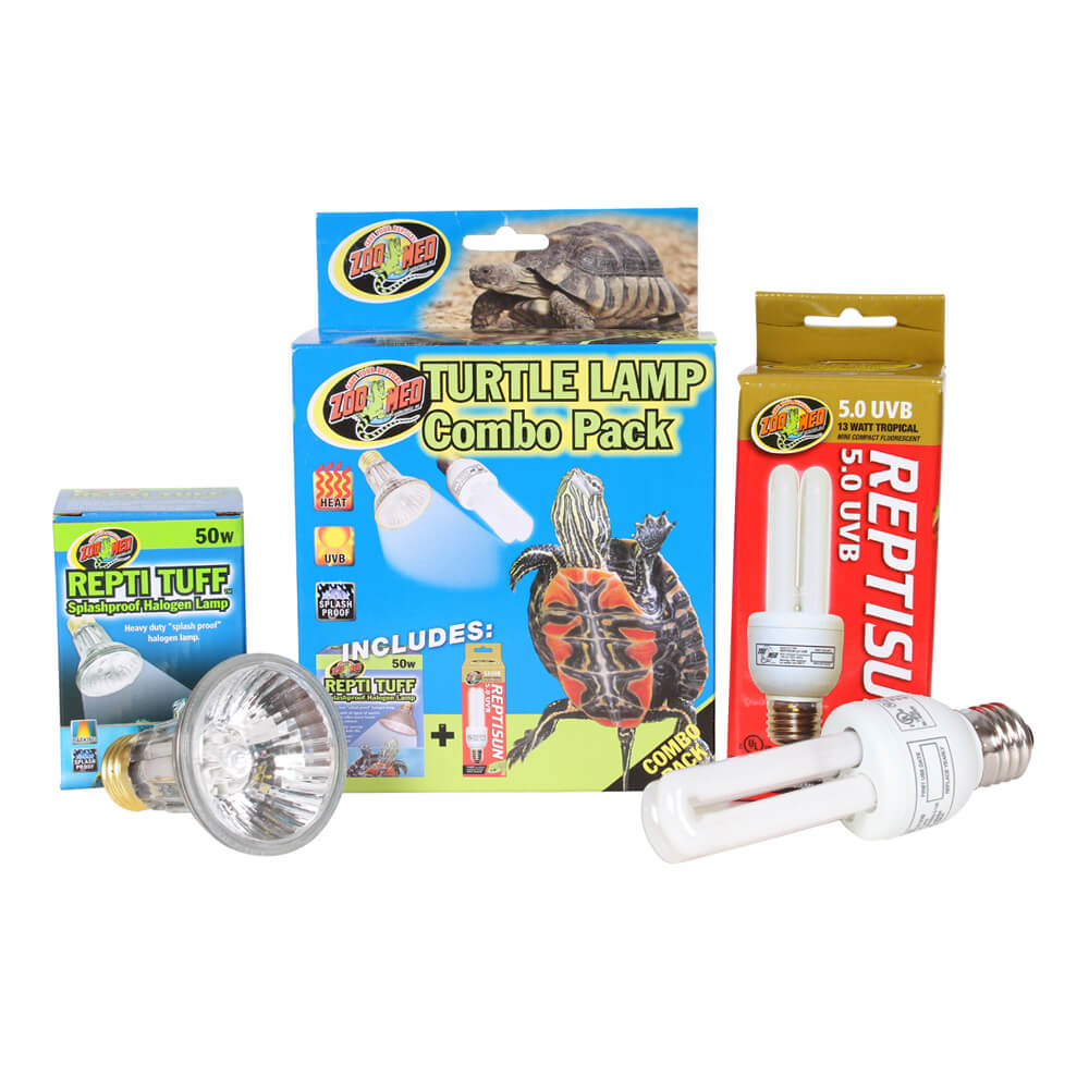 Zoo Med Turtle Lamp Combo, 2 Pack