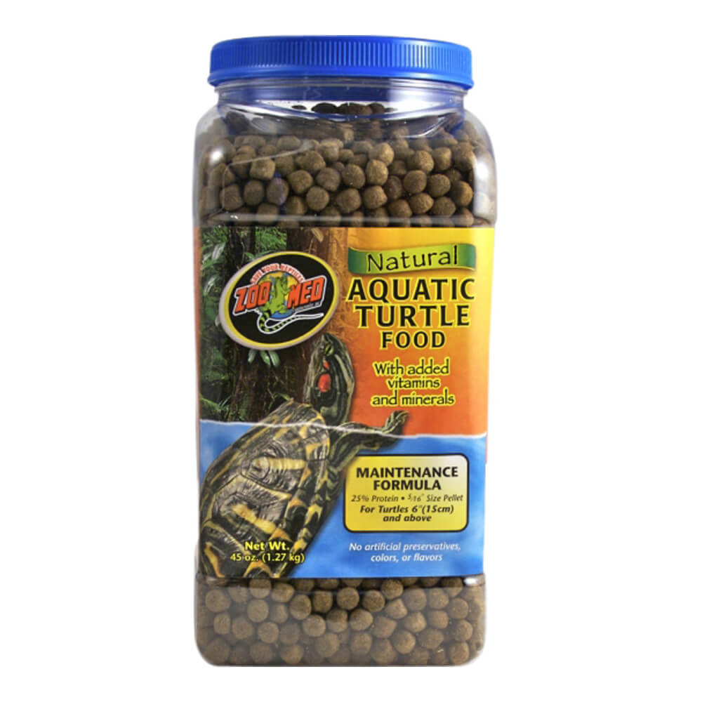 Natural Aquatic Turtle Food Maintenance Formula 45oz