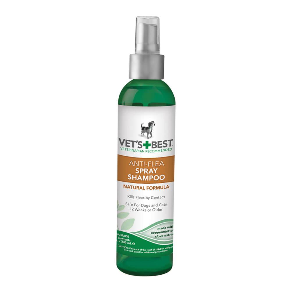 Vet's Best Natural Anti-Flea Easy Spray Shampoo
