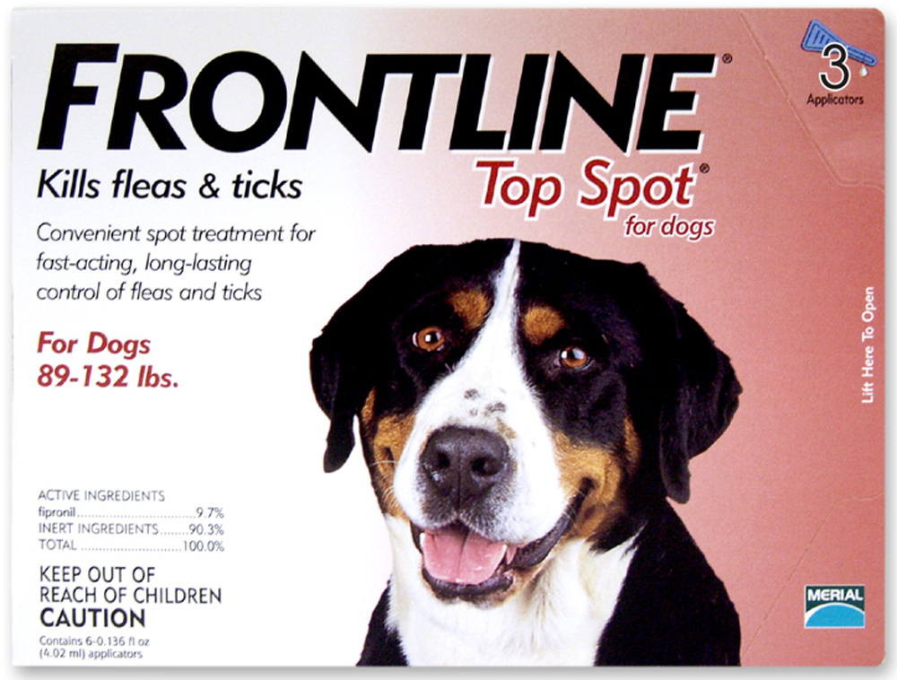 Frontline Topspot Dog 89-132, 3 month