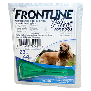 Frontline Plus Flea & Tick for Dogs, Single Dose