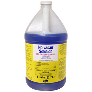 Nolvasan Solution Animal Premise and Equipment Disinfectant