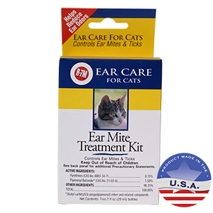 R-7M Ear Mite Treatment Kit for Cats
