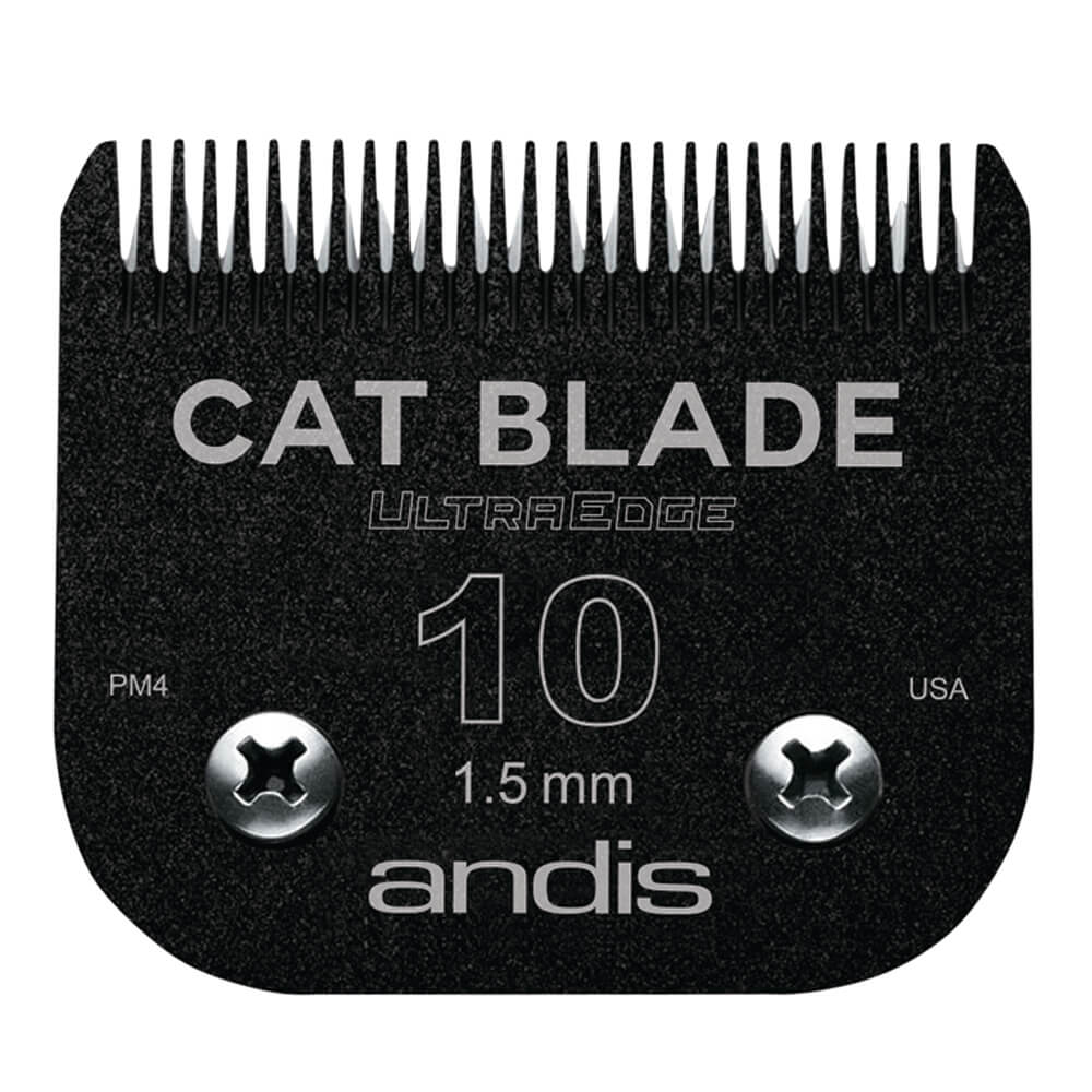 Andis Ultraedge Cat Detachable Blade #10 EGT, Black