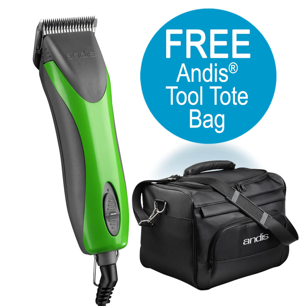 Endurance Green Detachable Blade Clipper  w/ FREE tote bag
