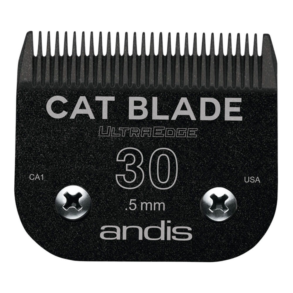 Andis Ultraedge Cat Detachable Blade #30 EGT, Black