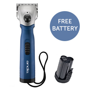 Andis Xplorer Cordless Clipper w/Extra FREE Battery