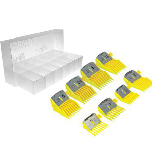 Laube Univeral Blade Comb, Yellow, Set of 8