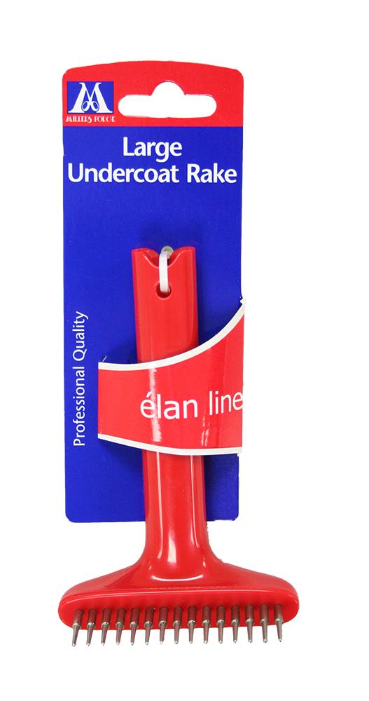 Elan Large Undercoat Rake Pet Undercoat Rake Lambert