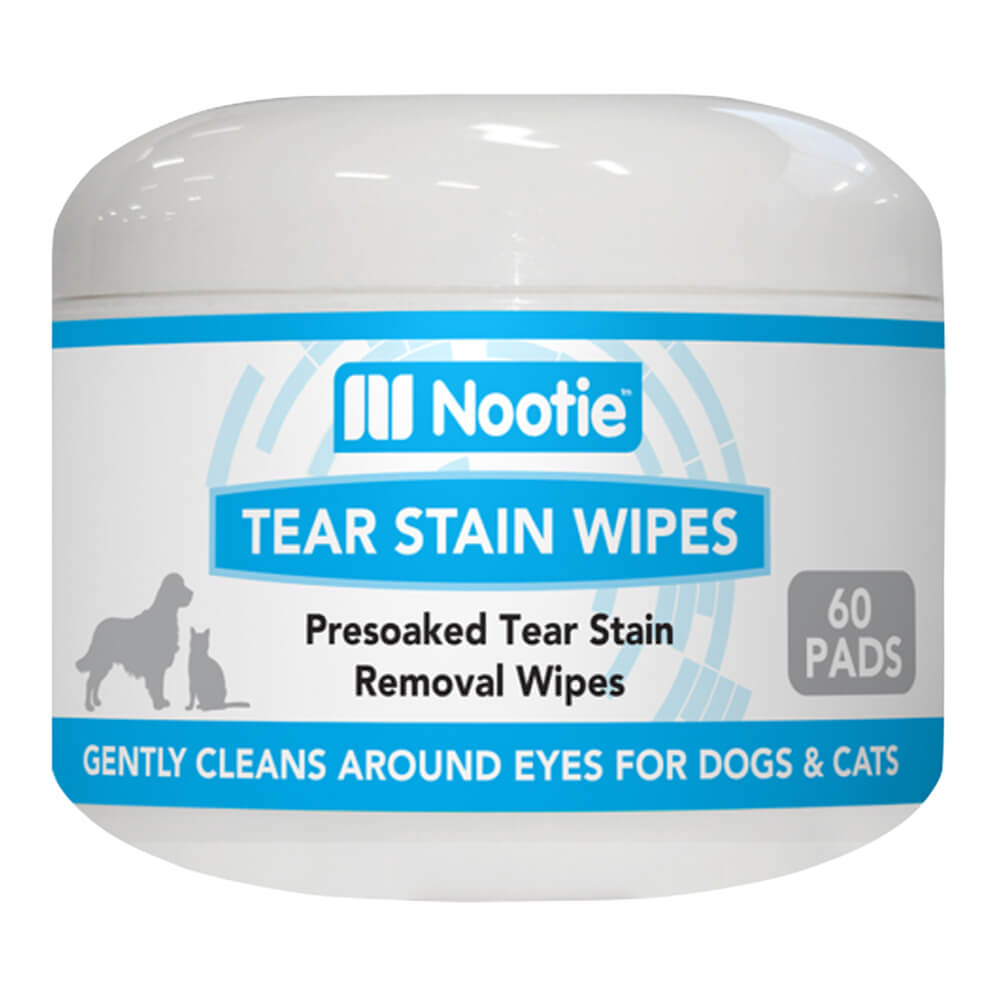 Tear Stain Wipes For Dogs & Cats 60ct