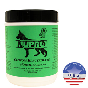 Nupro Custom Electrolyte Formula for Dogs, 2.5 lb