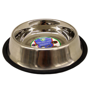 Non-Tip Stainless Steel Bowls