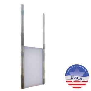 Gun Dog House Doors Guillotine
