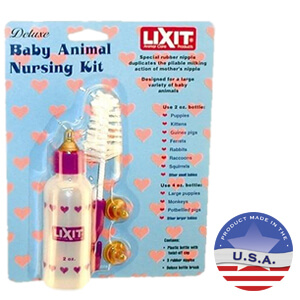 Lixit Bottle Nursing Kit for Baby Animals