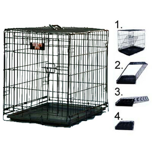 Majestic Pet Products Single Door Crate