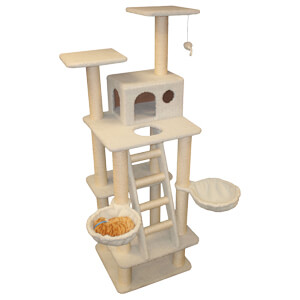 Majestic Pet Products Bungalow Cat Tree
