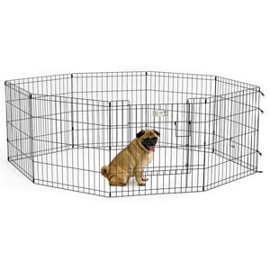 MidWest Homes for Pets Exercise Pen with Step-Thru Door