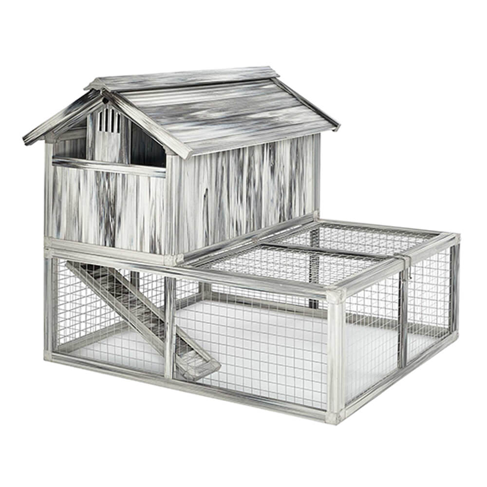 Hen Haven Chicken Coop-Plastic/Wood, 2 Cartons
