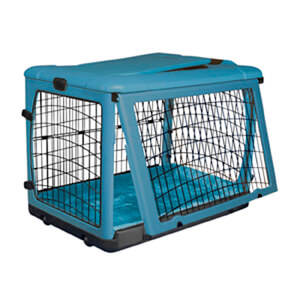 The Other Door Steel Crate with Plush Pad