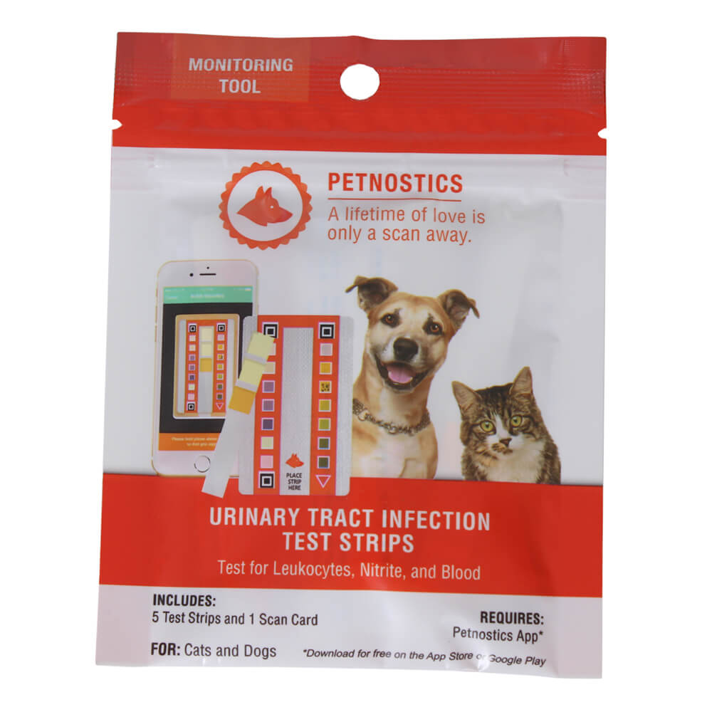 Petnostics Urinary Tract Infection Test Strips, 5 ct