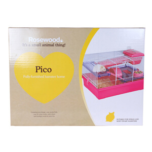 Pico Fully-Furnished Hamster Home