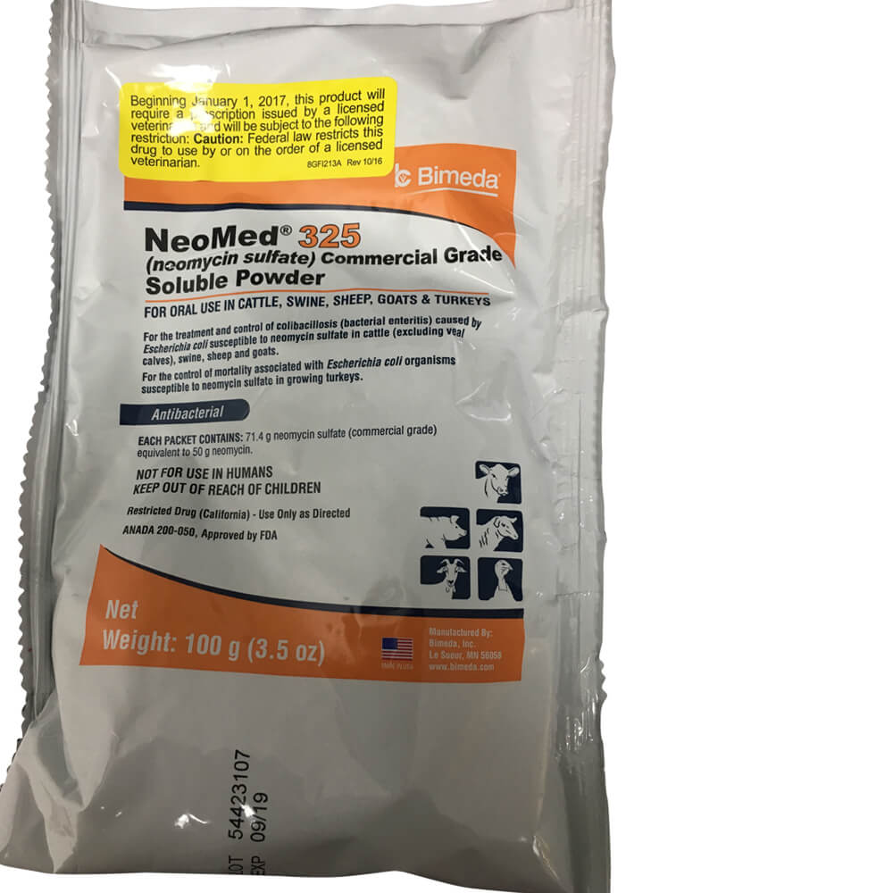 Rx Neomix 325 Soluable Powder 100g