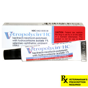 Rx Neo/Poly/Bac w/ Hydrocortisone Ophthalmic Ointment, 3.5gm