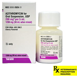 Azithromycin/Zithromax Rx Suspension