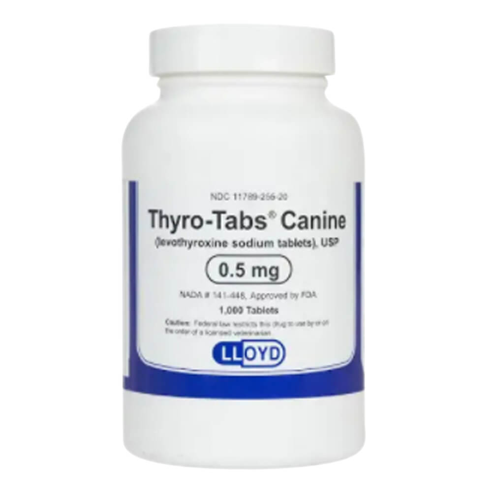 Rx Thyro Tabs, 0.5 mg, 1000 ct