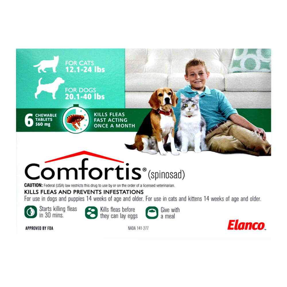 Comfortis For Dogs And Cats