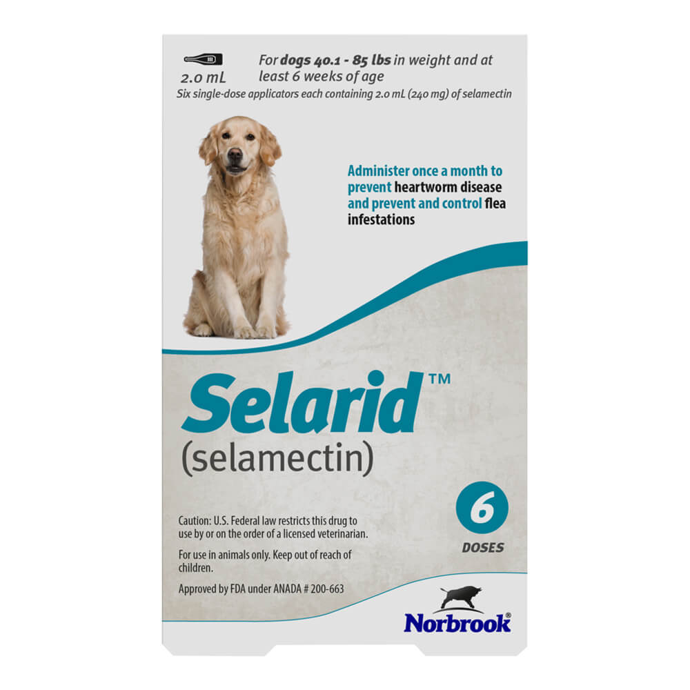 Rx Selarid, Large Dog, 40.1-85lbs