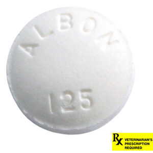Rx Albon 125mg  x 1 Tablet
